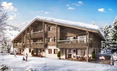 Nově ve výstavbě Byt Megève
