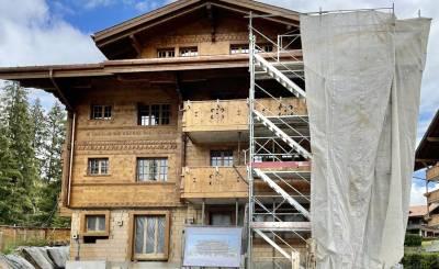 Nově ve výstavbě Doručeno na Saanenmöser