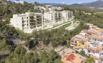 Nově ve výstavbě Sídliště Santa Ponsa